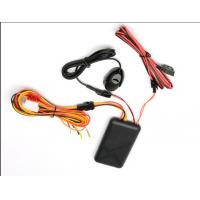 Buy cheap Black GSM Mini Motorybike GPS Tracker SOS Alert Voice Monitoring With Relay from wholesalers