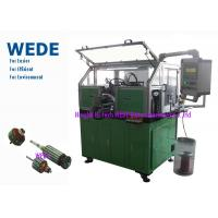 Buy cheap Dc Motor Copper Wire Coil Winding Machine For Home / Automobile Rotor Hook Commutator from wholesalers