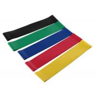 Buy cheap 5 PCS Resistance Band Set Elastic Latex Gym Strength Training Rubber Loops Bands Workout Fitness Equipment from wholesalers