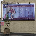 Buy cheap Shop media advertising aluminum rolling billboard advertising from wholesalers