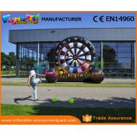 Buy cheap Customized Football Darts Inflatable Sports Games , Footdarts Popular Inflatable Dart Board from wholesalers