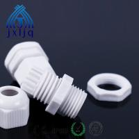 Buy cheap PA66 material Nylon IP68 cable gland size black white grey red color can customized M PG type from wholesalers