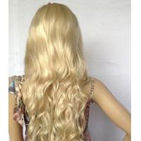 Buy cheap Long Straight Wigs Gold Scroll Wigs Kinky Curl Wig Hair for Female from wholesalers