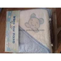 Buy cheap YKT7056 100% cotton baby hooded towel from wholesalers
