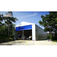 Buy cheap 20x40m temporary warehouse structure tent with 11m side height for sale from wholesalers