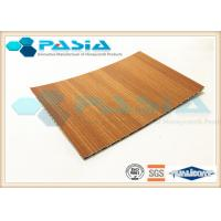 Buy cheap Wood Imitation Hexcel Honeycomb Panels , Lightweight Wood Panels Shockproof from wholesalers