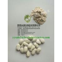 Buy cheap White Kidney Bean Extract  3000 units/g, 10:1,phaseolin1-3%, Chinese manufacturer supply natural Delaying aging ingre from wholesalers
