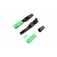 Buy cheap FTTH SC/APC  Single Mode 60mm Fiber Optic Fast Connectors Fiber Optic Quickly Connector from wholesalers