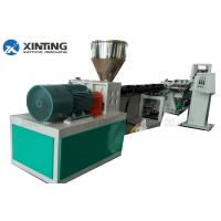 Buy cheap HDPE PE PPR Pipe Extrusion Machine , PPR Pipe Making Machine Production Line from wholesalers