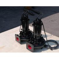 Buy cheap Centrifugal Submersible Sewage Pump Solid Handling TECO Motor High Performance from wholesalers