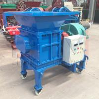 Buy cheap LHSSM-400 Plastic Shredder Machine widely used in area of waste plastic, waste rubber, wood, crop from wholesalers