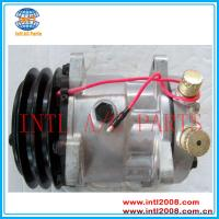 Buy cheap Universal Sanden 706 SD7H13 8949 S8949 ac air con comp compressor 7H13-A2 125mm 24V/12V from wholesalers