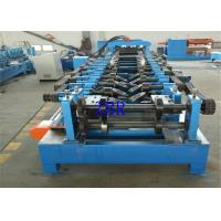 Buy cheap Automatic C Purlin Roll Forming Machine 5 Tons Manual Uncoiler PLC Control product