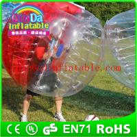 Buy cheap Inlfatable Color Bumper Ball Bubble Football  Soccer Body Zorb bubble soccer ball suit from wholesalers