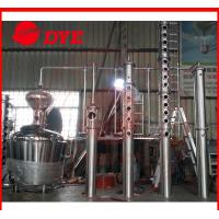 Buy cheap 500L Copper Distillation Column Distillery Equipment Vodka Distillery from wholesalers