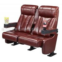 Buy cheap Luxury Leather Home Theater Chair / Movie Theater Seats With 2.0mm Steel Leg from wholesalers