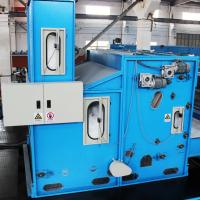 Buy cheap Synthetic Fiber Hopper Feeder Machine , Nonwoven Production Line 2.5m 60m/Min Capacity from wholesalers