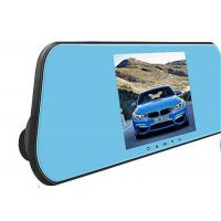 Buy cheap 1080P Full Hd Car Rearview Mirror Camera DVR With Front And Rear View Camera from wholesalers