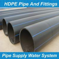 Buy cheap PE water pipe/pe gas pipe/hdpe pipe/pe rolled pipe/poly pipe/tubo pead from wholesalers