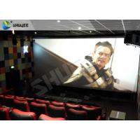 Buy cheap Professional 4DM Cinema Equipemnt With Electric Motion Chair , 4 Seats / Set product