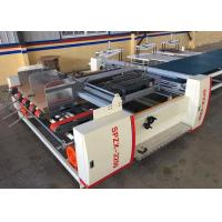 Buy cheap Corrugated Paperboard Folder Gluer Machine  / Carton Box Making Machine from wholesalers