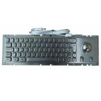 Buy cheap Mechanic Kiosk Metal Keyboard With Cherry Key-Switch And 38mm Laser Trackball from wholesalers