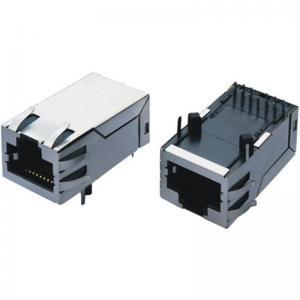 Buy cheap 1000m 8P8C 1X1 Entire Shielded Female PCB Mount RJ45 Stecker product