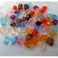 Buy cheap Acrylic bicone faced Beads 6mm Size for Jewellery Making & Crafting Supplies from wholesalers