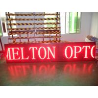 Buy cheap Sports Commercial P10 Scrolling LED Sign High Brightness 100 Meters from wholesalers