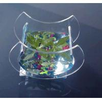 Buy cheap Crescent Shape Custom Acrylic Fish Tank For Aquatic Plants product