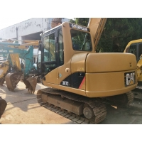 Buy cheap used / secondhand 307c cat mini digger excavator for sale in china shanghai with low price from wholesalers