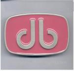 Buy cheap Enamel metal lady belt buckle, custom logo enamel lady belt buckles, zinc alloy, from wholesalers