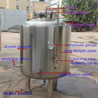Buy cheap 300L beer brewing equipment serving tank from wholesalers