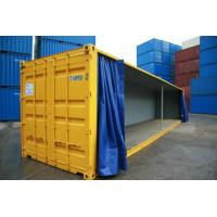 Buy cheap 850gsm 1000d PVC Tarpaulin Side Curtain for Trailer , Glossy or Matte from wholesalers