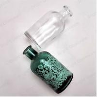 Buy cheap Retro empty reed diffuser bottles antique green glass perfume bottles from wholesalers