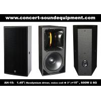 Buy cheap 600W Nightclub Sound Equipment , 1.4 + 15 Full Range Speaker For Show , Disco , Living Event And DJ from wholesalers