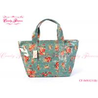 Buy cheap Lightweight Floral Print Handbags Vintage Green for Womens / Ladies from wholesalers