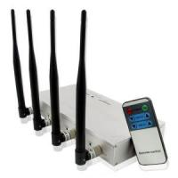 Buy cheap High Power Mobile Phone Jammer with Strength Remote Control product