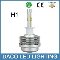 Car led headlight H1 bulb headlight single beam 30w 3600lm 3000k 6000k 8000k