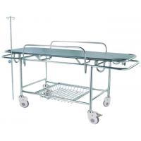 Buy cheap Hospital Emergency Patient Transport Stretcher 4 Wheels , Stainless Steel Frame from wholesalers