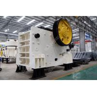 China JC 340 Mining Jaw Crusher Machine  High Flexibility Low Energy Consumption on sale