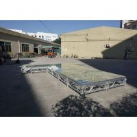 Buy cheap RK Height adjustable aluminum stage foldable stage platform portable outdoor stage from wholesalers