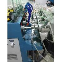 Buy cheap Air Supply >0.5Mpa PVC Pipe Extrusion Line , PVC Pipe Making Machine Four Cavity Extrusion from wholesalers