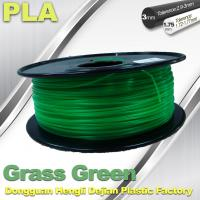 Buy cheap Grass Green biodegradable 3d printer filament PLA 1.75mm materials product
