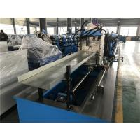 Buy cheap Whole Plate Welding Frame Top Hat Roll Forming Machine With Mitsubishi Touch screen from wholesalers