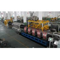 Buy cheap Double Strands Plastic Pipe Extrusion Line / High Output PVC Pipe Production Line from wholesalers