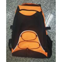 Buy cheap Waterproof Nylon Fabric Backpack Bag 49 * 32 * 12 CM For Unix Black Yellow from wholesalers