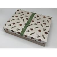 Buy cheap Little - Giant Big Christmas Gift Boxes For Kids Wood Pattern Decoration Ribbon Tag Included from wholesalers
