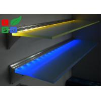 Buy cheap Wall Mounting LED Flat Panel Light Ultra Slim 8mm Store Display Glass Shelf Light from wholesalers