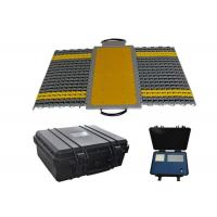 Buy cheap Wheel Axle Off Load Axle Weighing Scales , Portable Weighbridge Scales Strong Inner Structure from wholesalers